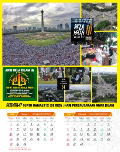 Kalender Aksi Super damai 212